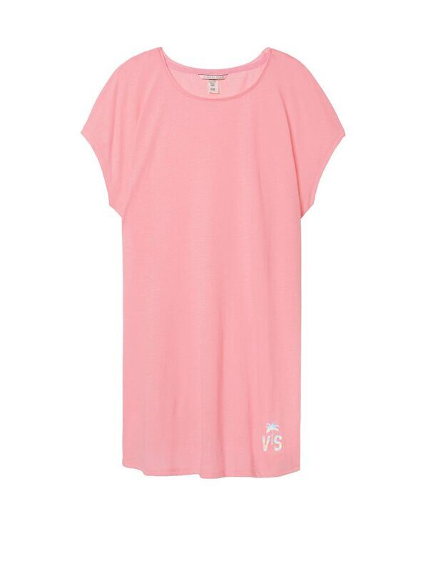 Топ удлинённый  для сна  Angel Sleep Tee Victoria's Secret (2 шт.4980)