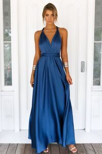 Платье макси PERFECT DATE SATIN MAXI DRESS