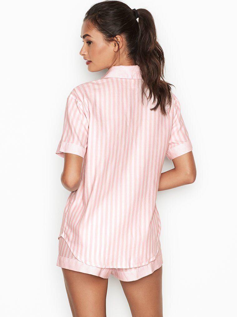 5f4fdf31c19a Тёплая фланелевая пижама с шортами Victoria's Secret