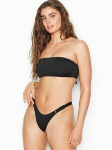 Купальник бандо VICTORIA'S SECRET Ruched V-Front Bandeau