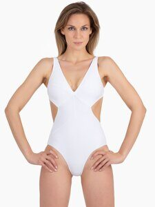 Слитный купальник MISS BIKINI Luxe Seamed Sheer One-piece